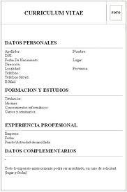 Curriculum Vitae En Ingles La Bolsa De Trabajo