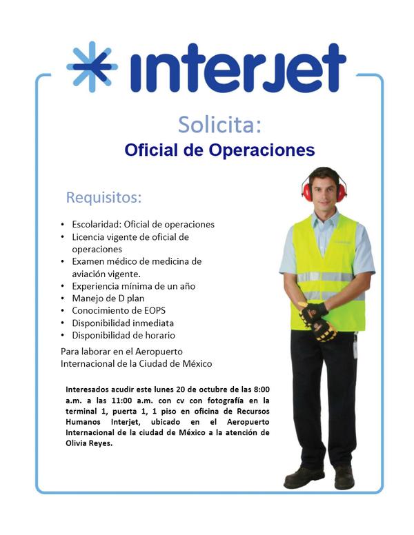 bolsa de trabajo interjet