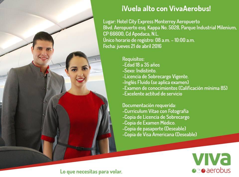 bolsa de trabajo vivaaerobus